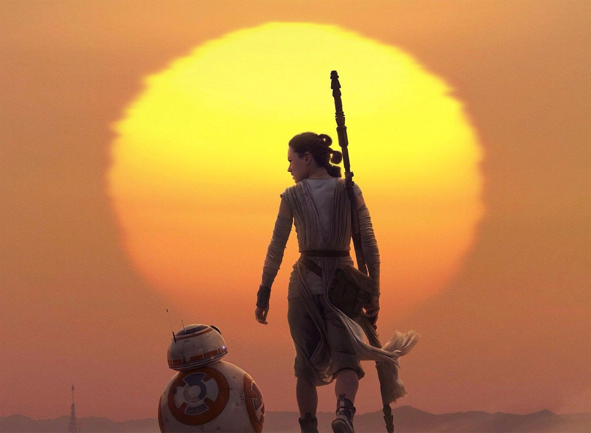 sunset, Star Wars: The Last Jedi