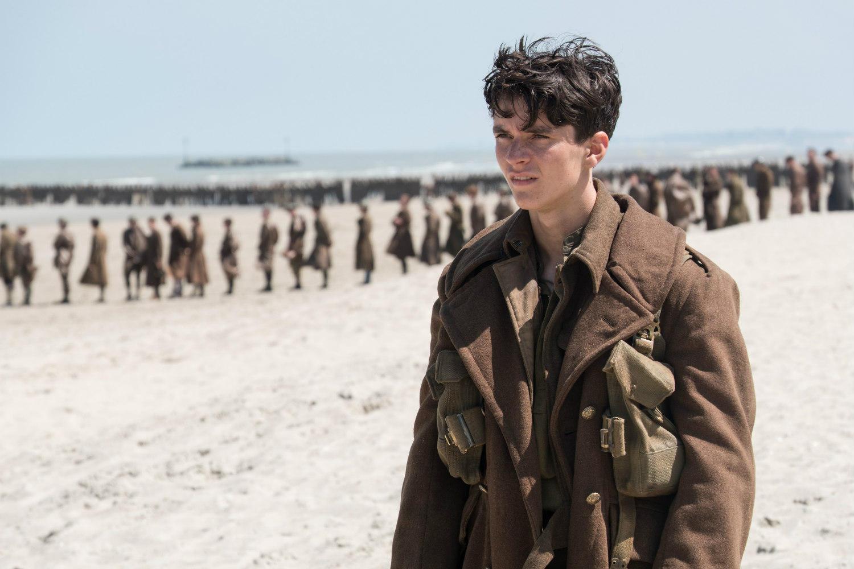 WWII movie, soldiers, Dunkirk