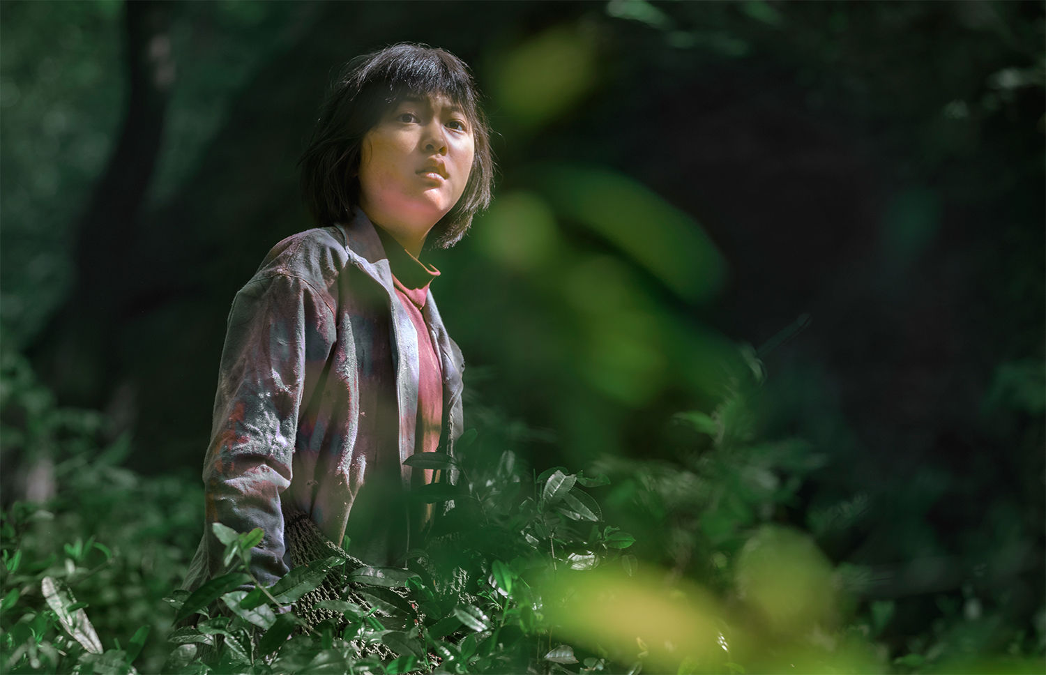 young girl in the jungle, Okja 2017