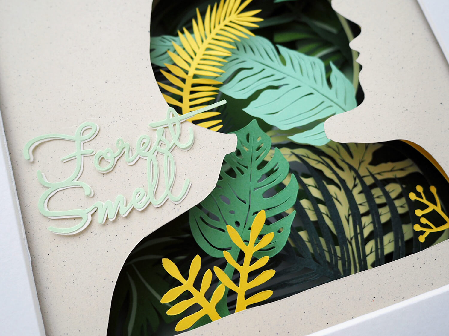 cut paper illustration by Chao Zou