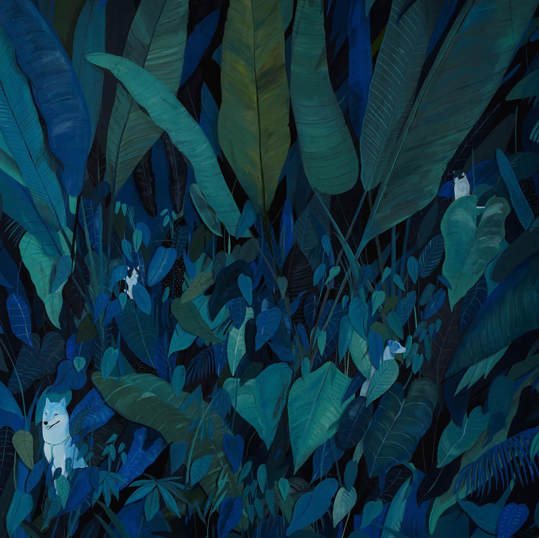 animals hiding by Robert Bowers