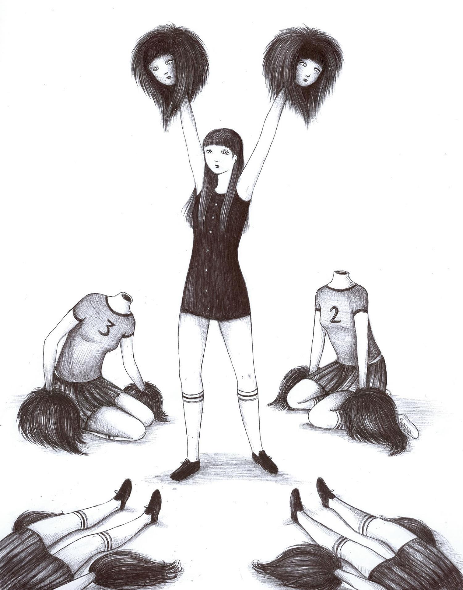Virginia Mori - cheerleader