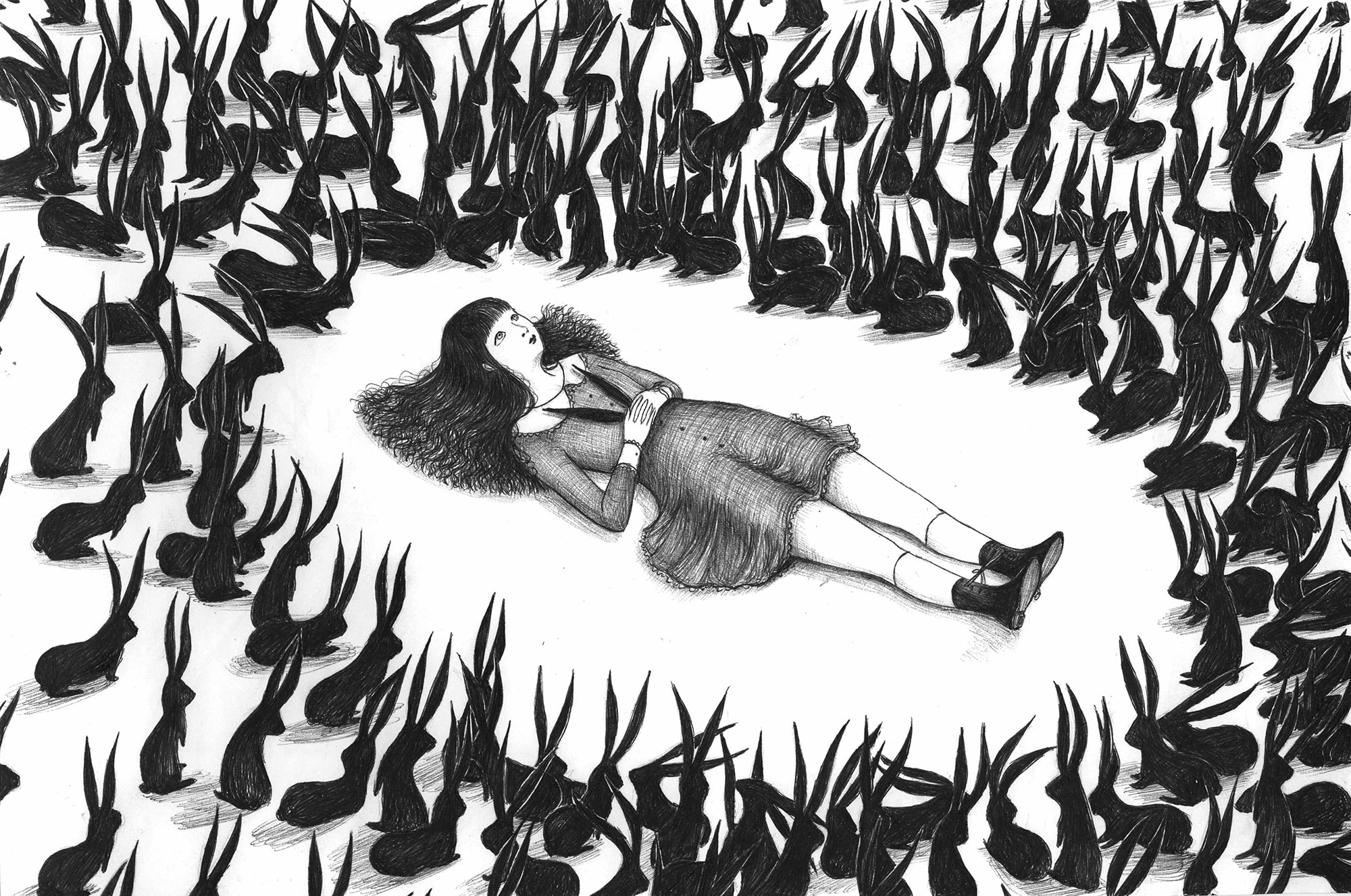 Morbid and Mysterious Illustrations by Virginia Mori