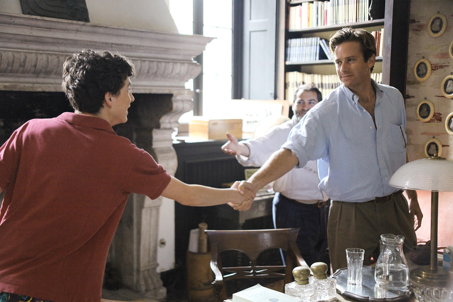 2017 LGBT Films - Call Me By Your Name, meeting