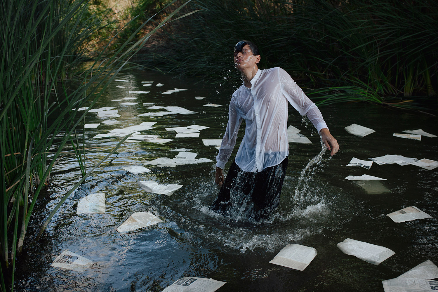 Alex Stoddard - Paper in the water