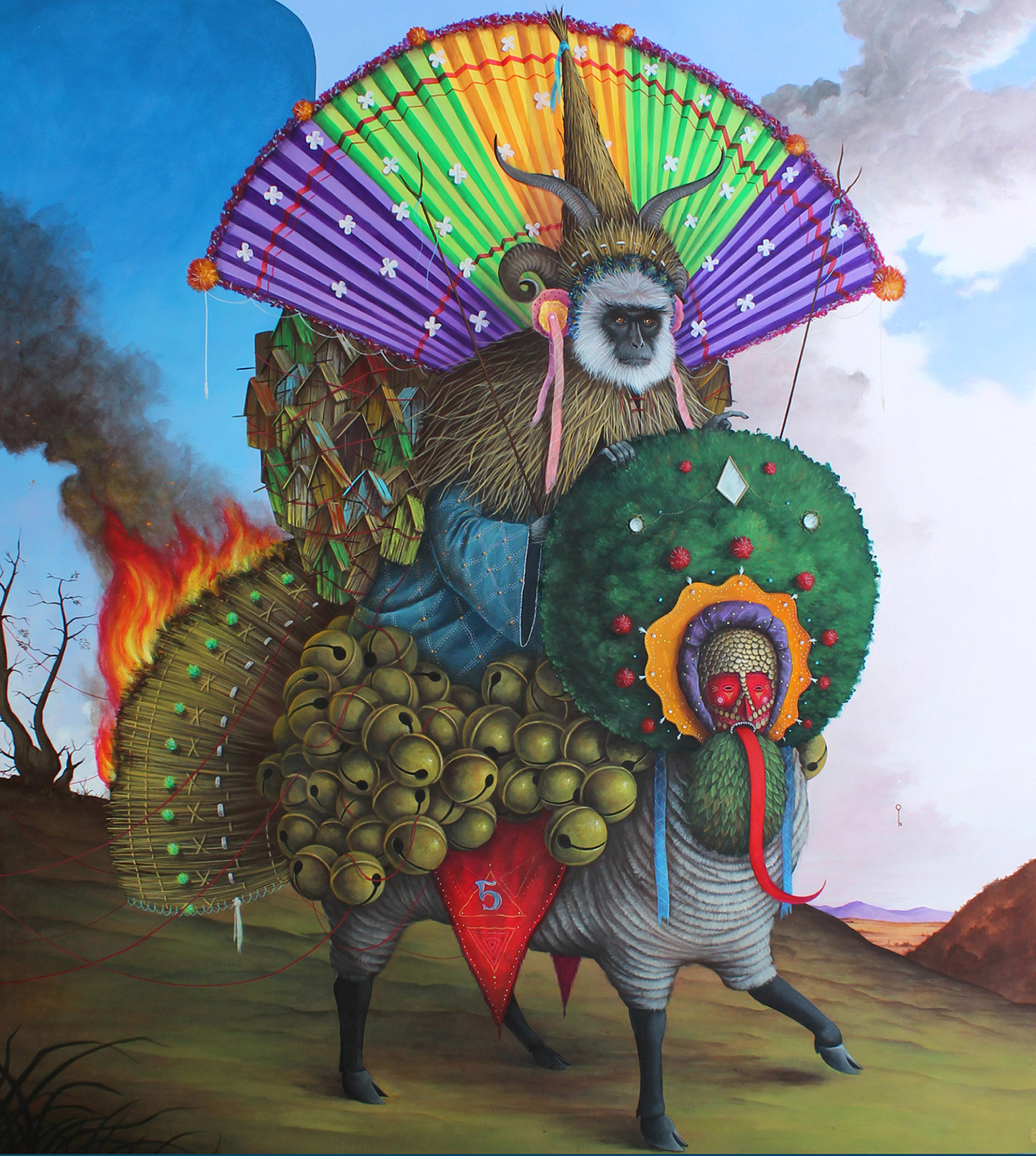 Modern Alchemy: Symbolic Paintings by El Gato Chimney