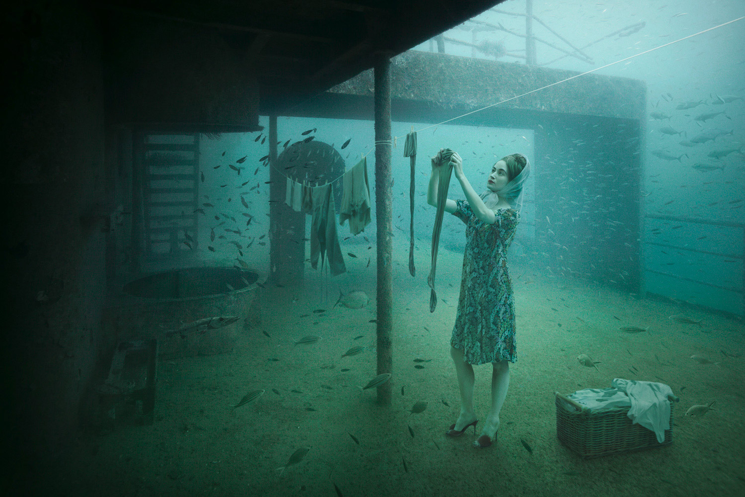 Andreas Franke - The Sinking World, laundry