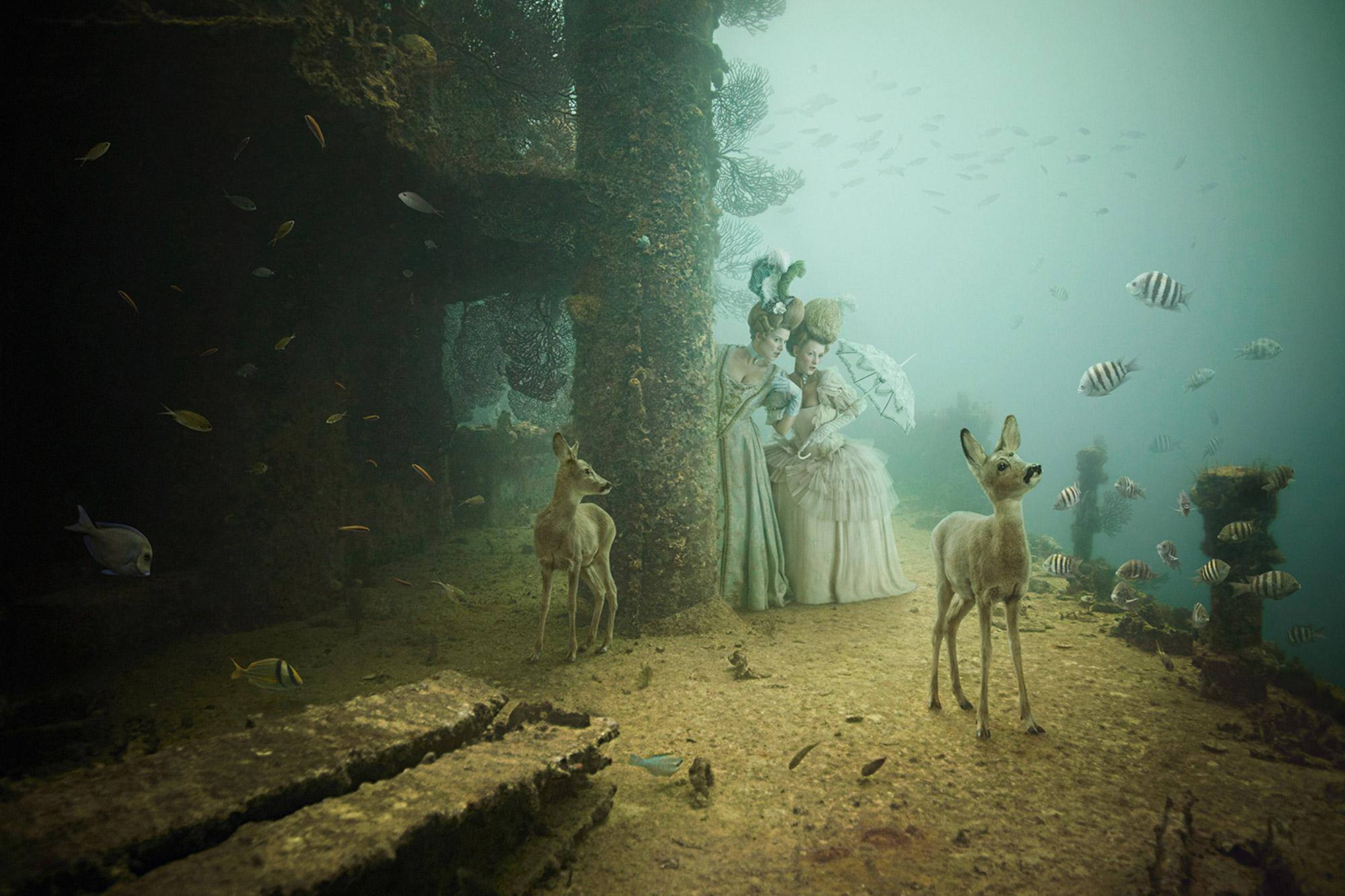 The Sinking World: Magical Photomontages by Andreas Franke