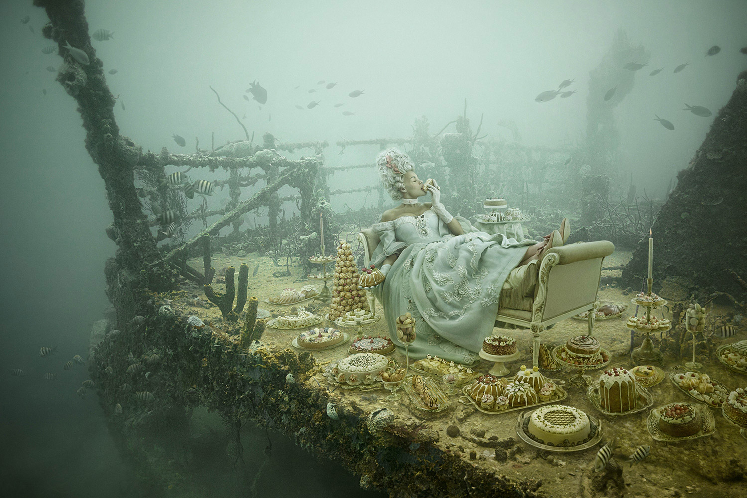 Andreas Franke - The Sinking World, lounging