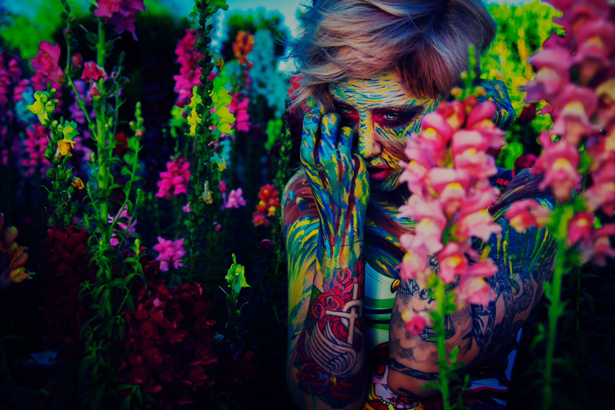 I Must Be Dead: Vibrant and Surreal Portrait Photography