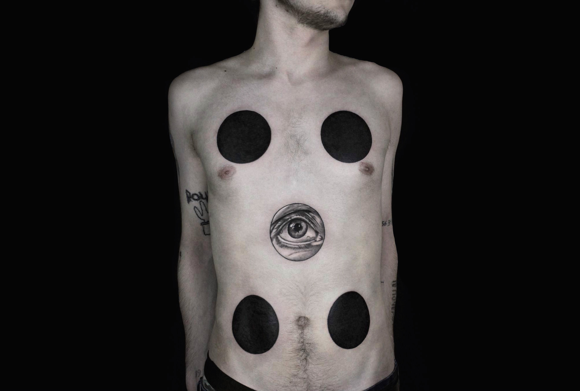 Absurdist and Avant-Garde Ink by Heavenly Beauty Tattoo