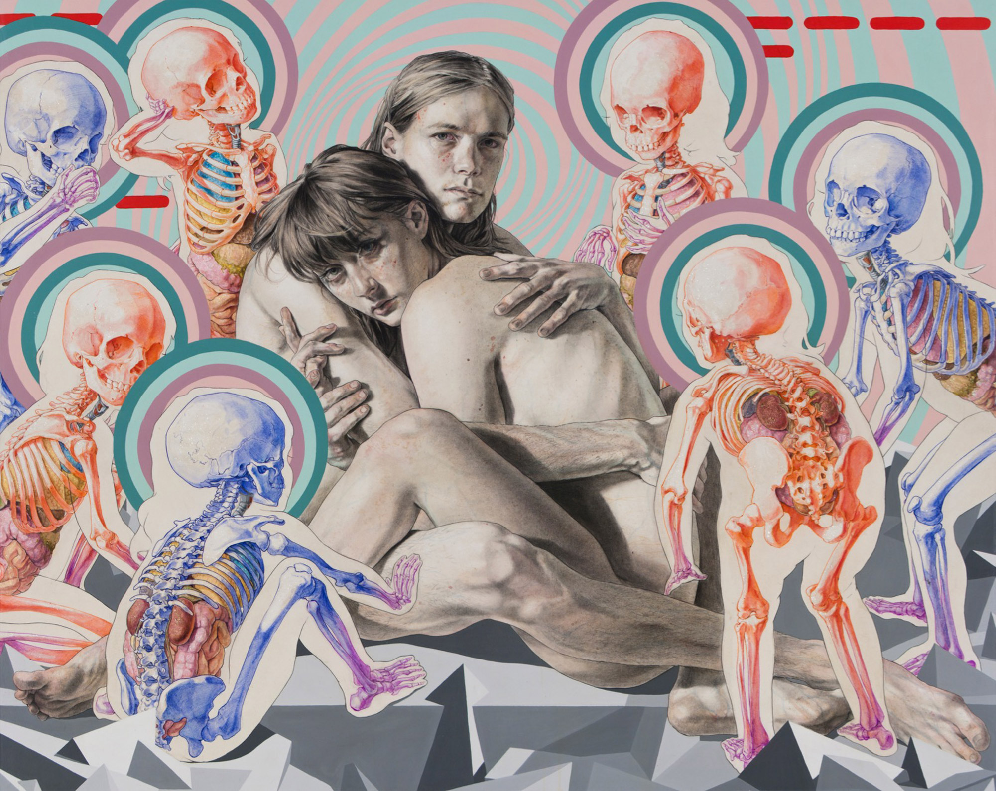 Shades of Comedy and Death: Hypnotic Drawings by Michael Reedy