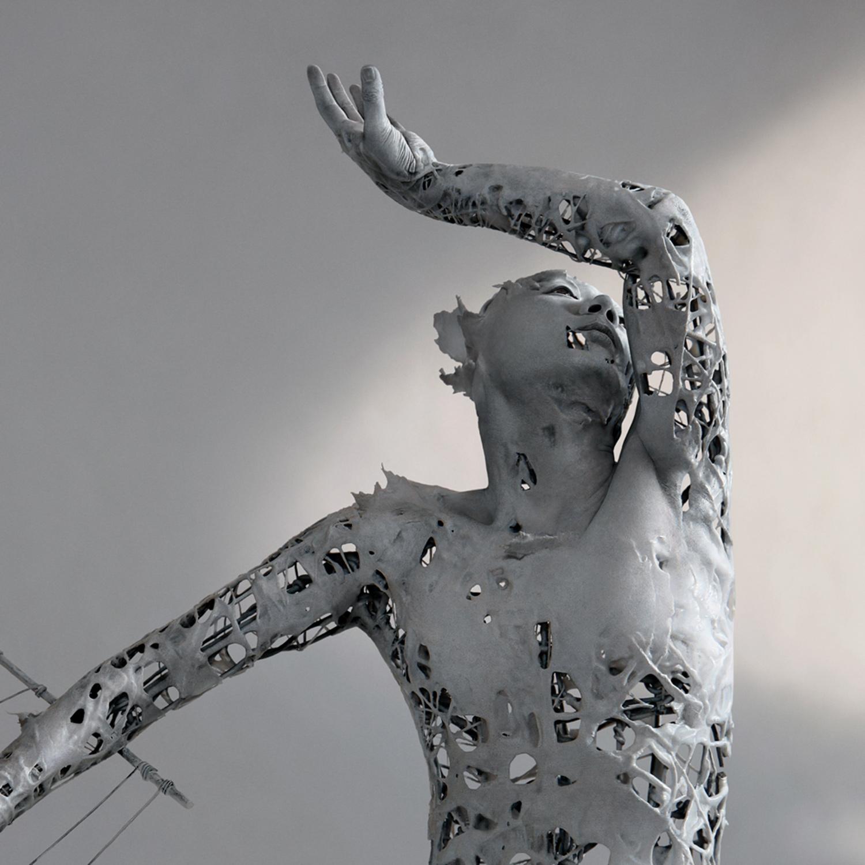 Yuichi Ikehata - Fragment of LTM, memory, body sculpture