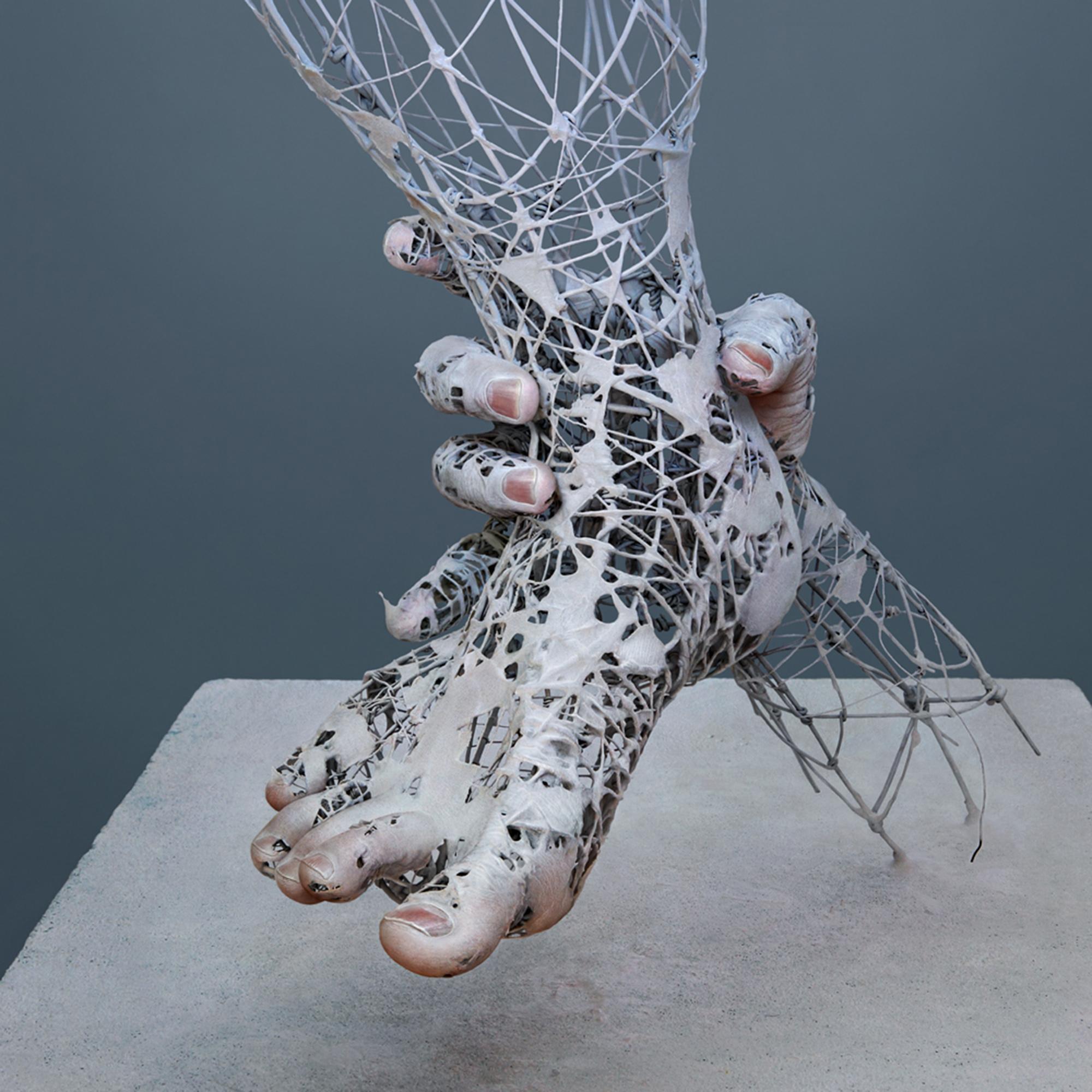 Eerie, Disintegrating Bodies by Yuichi Ikehata