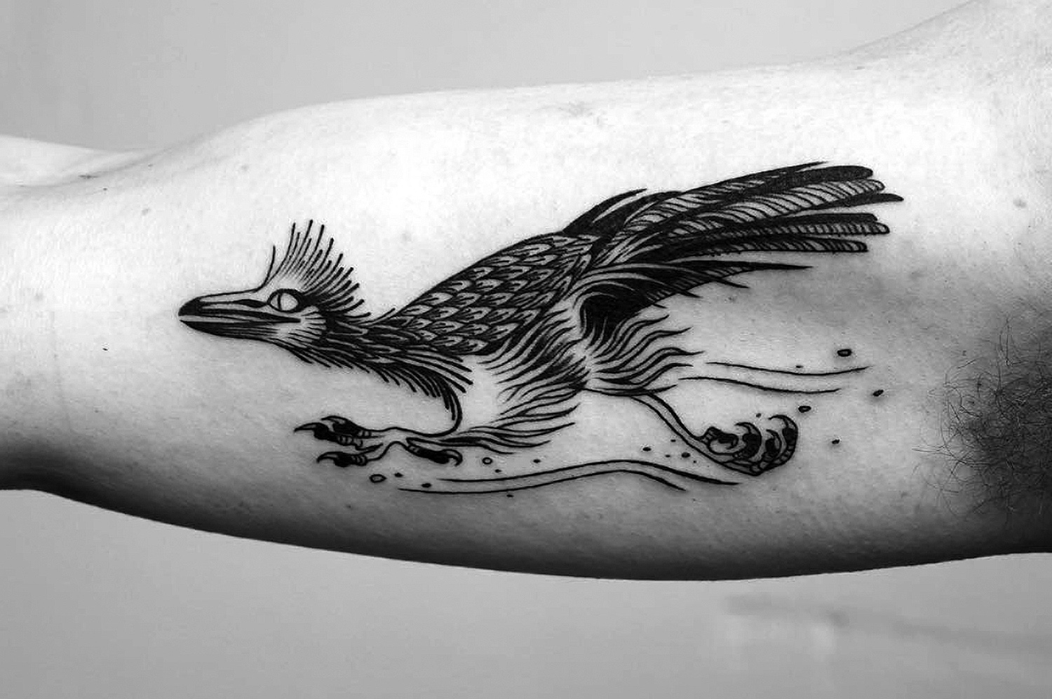 road runner tattoo