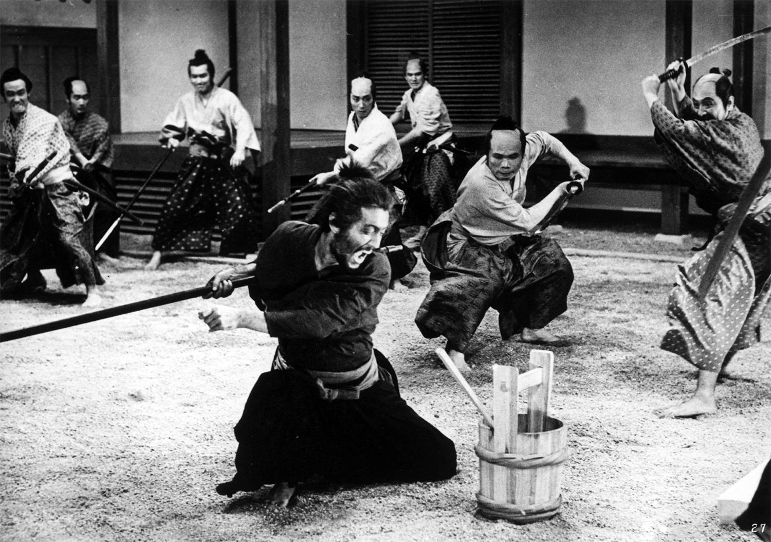 Harakiri (Seppuku, 1962), sword fighting