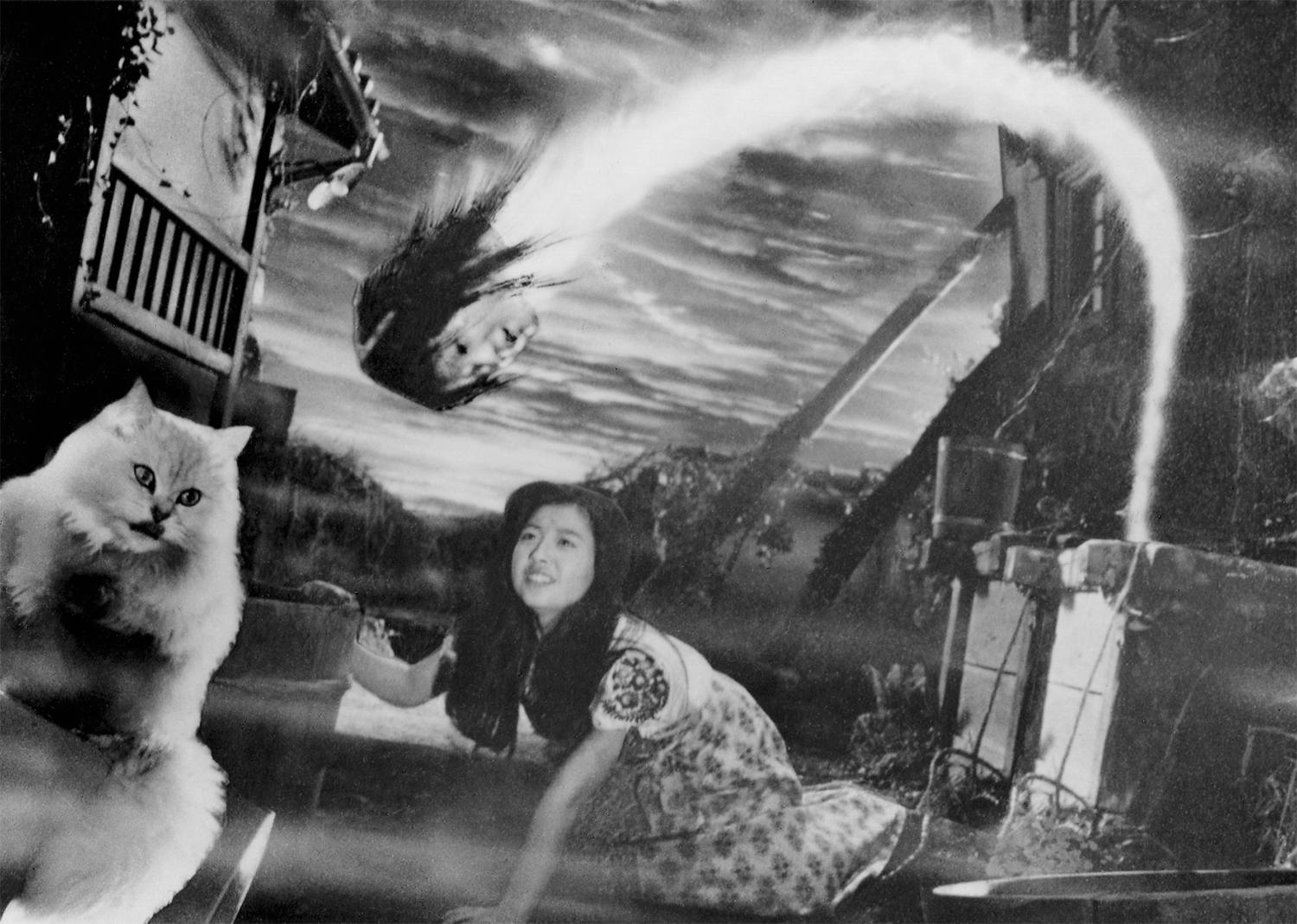 weird stuff in House (Hausu, 1977)