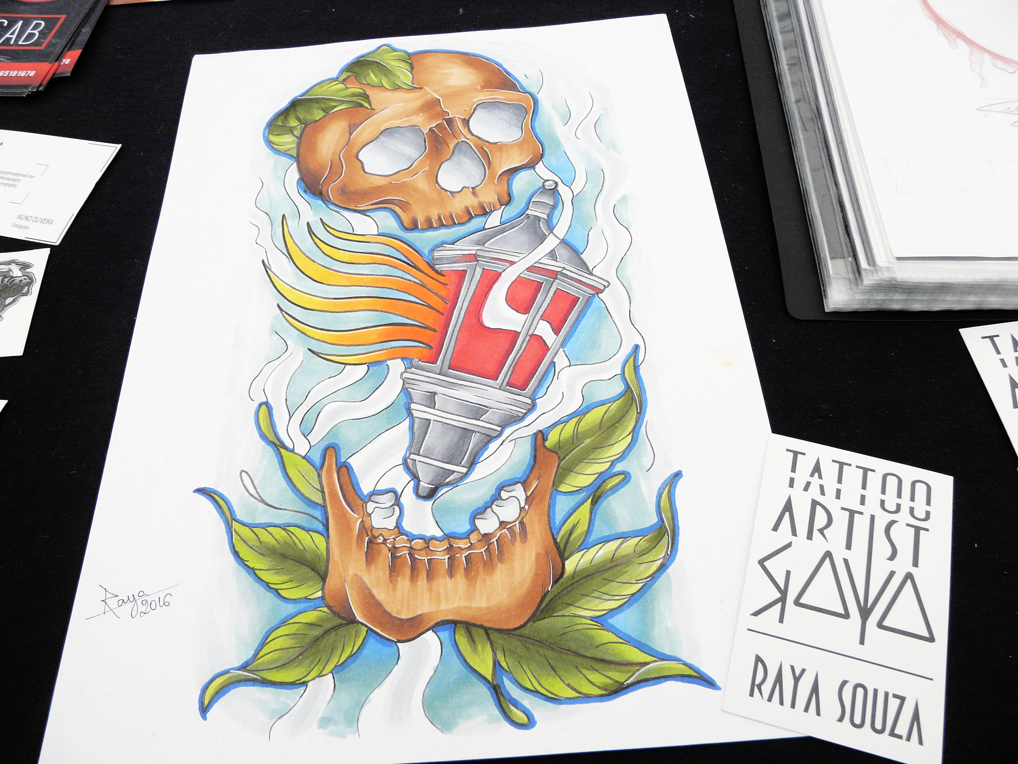 An Interview with Raya Souza, a Rising Star on the PT Tattoo Scene