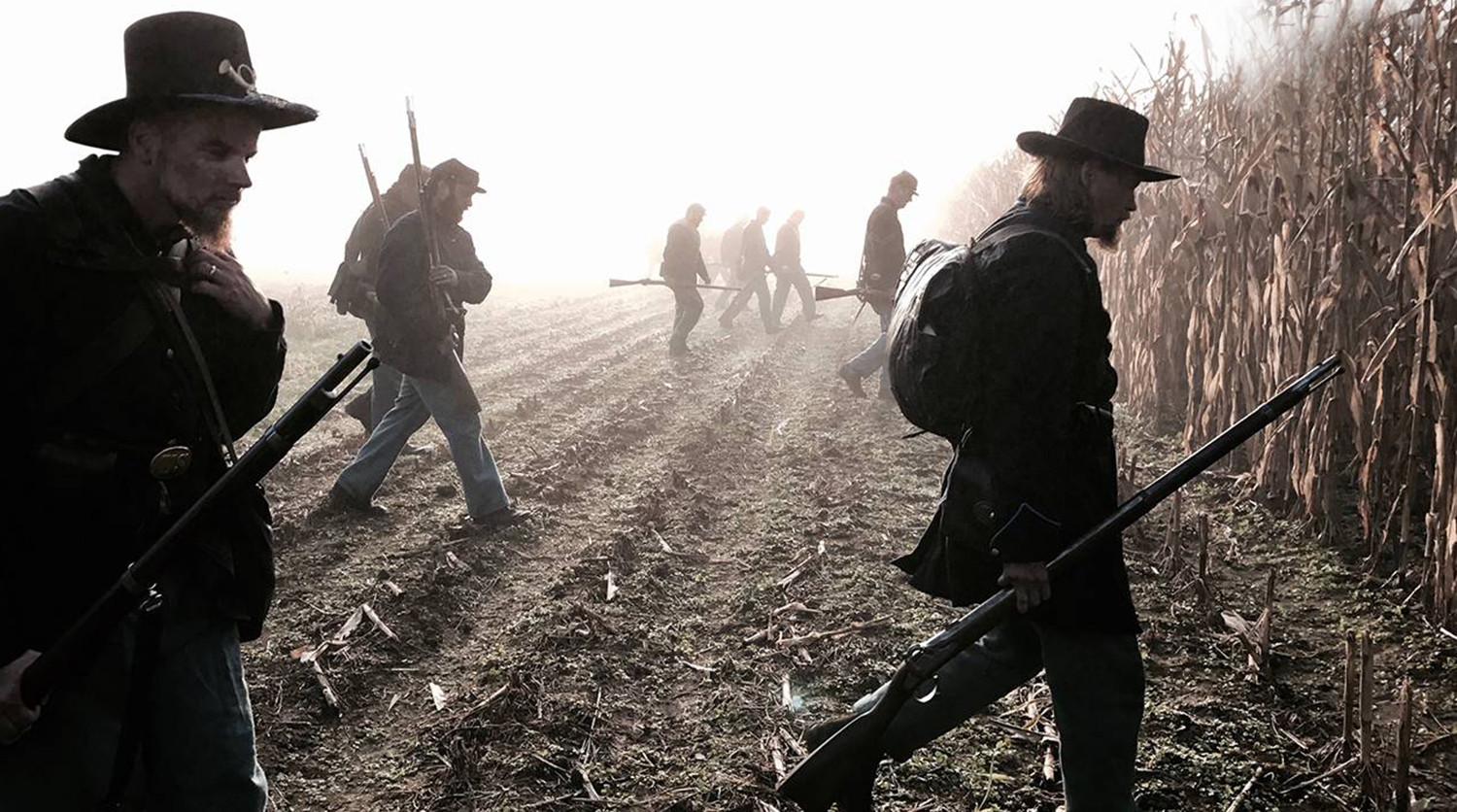 soldiers walking in field, My Brother's Keeper