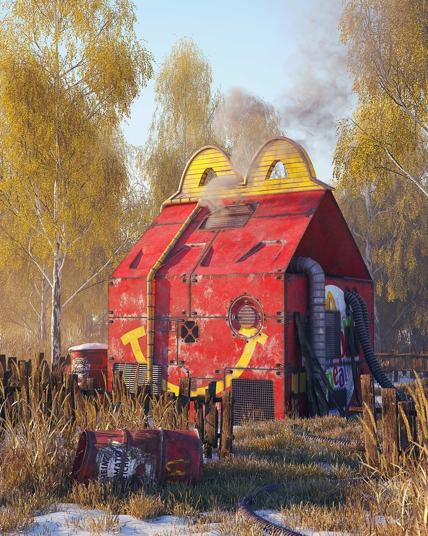 Filip Hodas - Pop culture dystopia - McDonald's Happy Meal