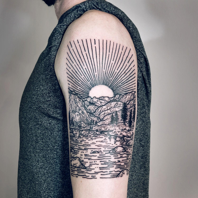 Lisa Orth, tattoo - Robert, Donahue pass