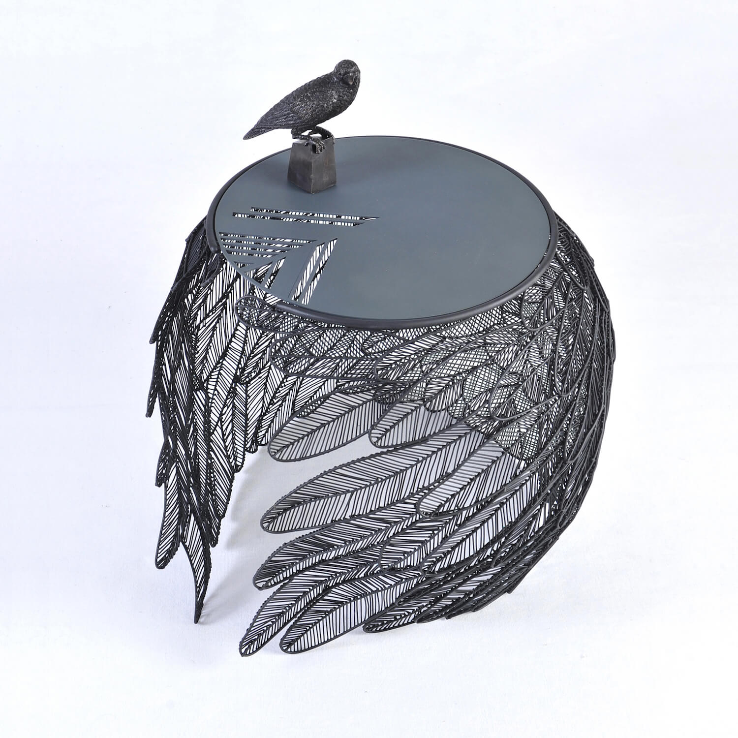 feather side table by Apiwat Chitapanya-Asia Collection