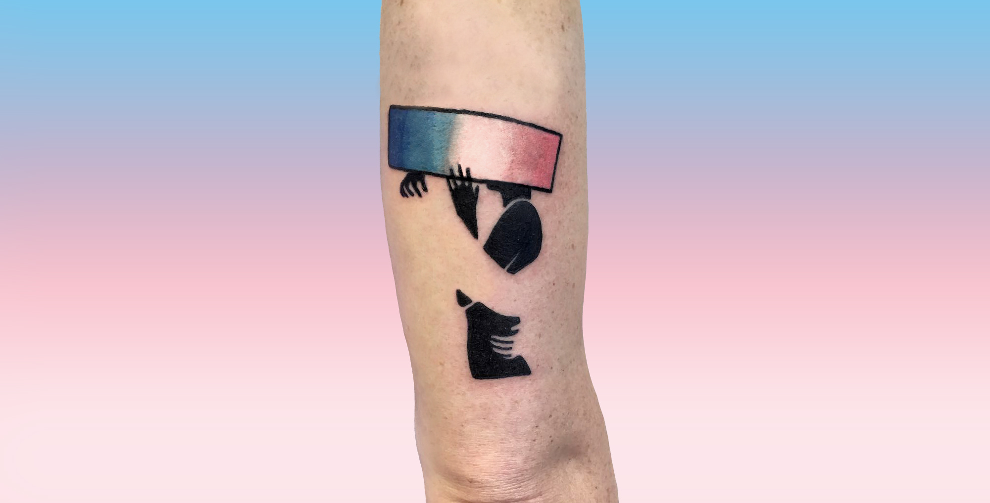 Transgender love tattoo by Blaabad