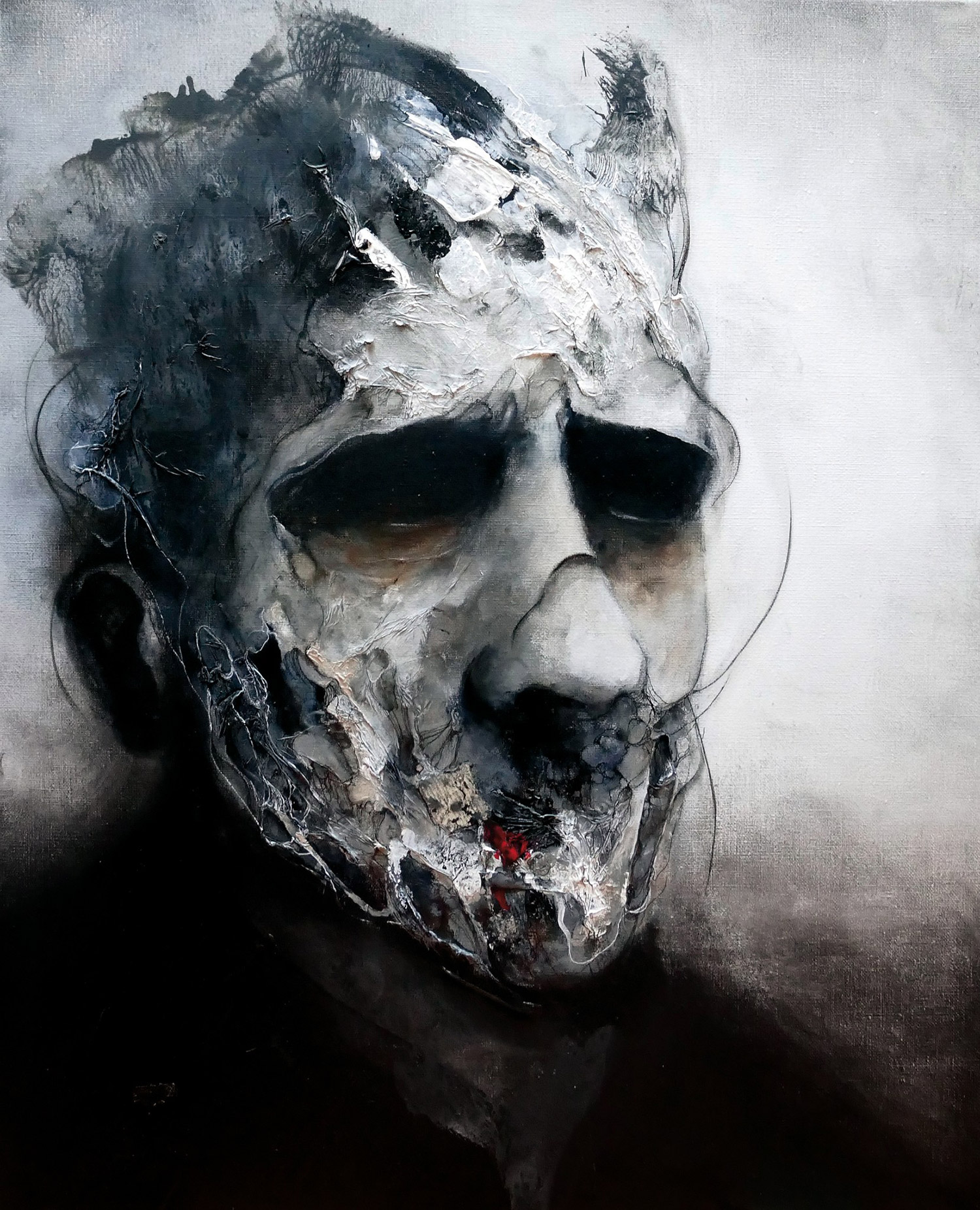 Eric Lacombe - dark face
