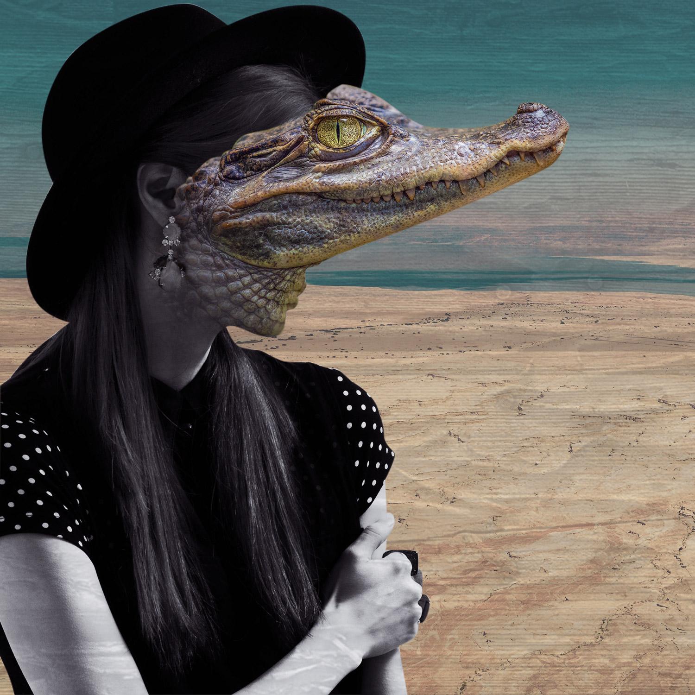 Fate Troppo Belle - alligator portrait