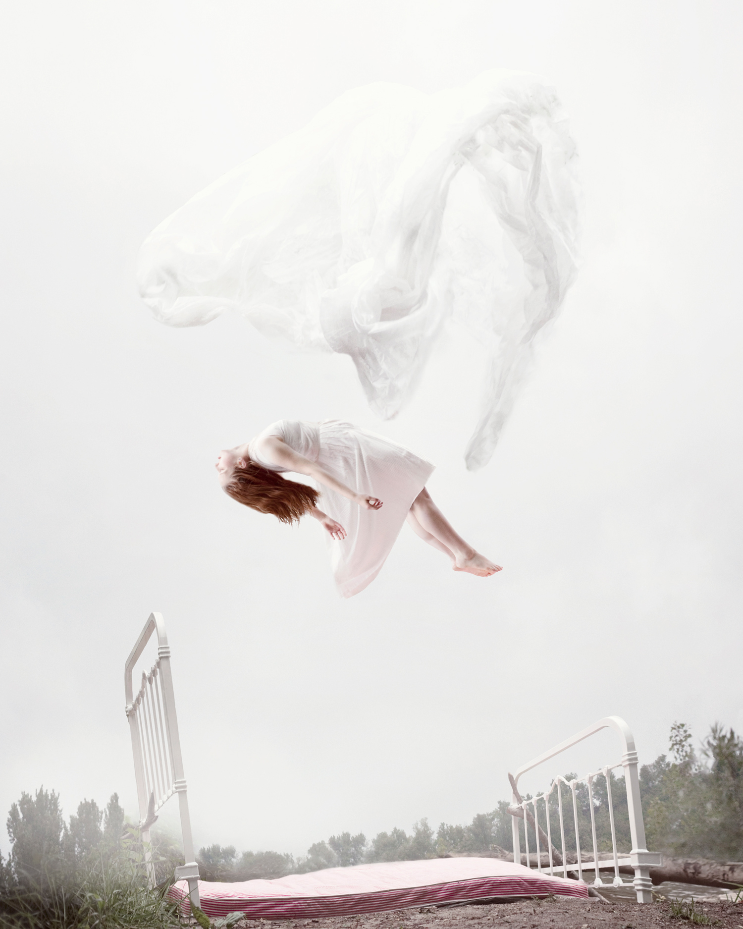 Maia Flore, Sleep Elevations - floating above the bed