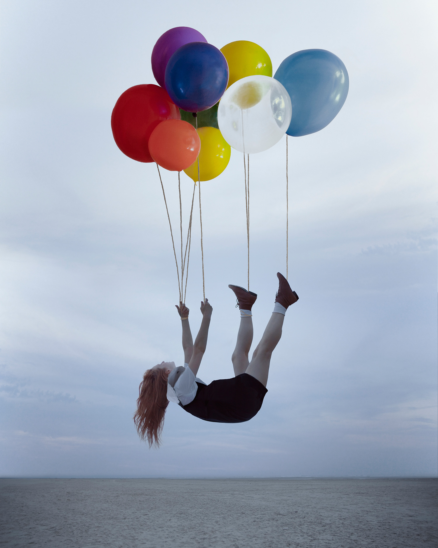 Maia Flore, Sleep Elevations - colorful balloons