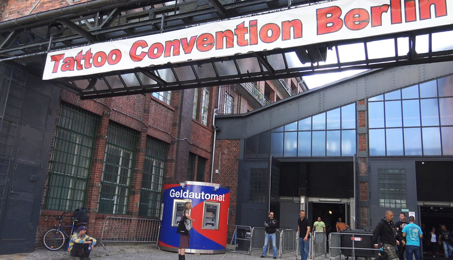 tattoo convention berlin, arena berlin, front building