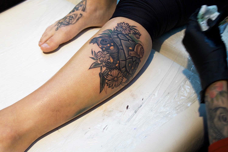 Art Tattoo Montreal Show - tattoo by Georgina Liliane