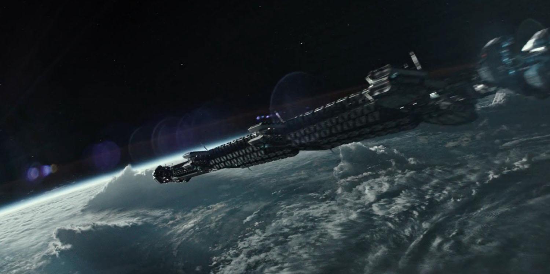 alien convenant spaceship