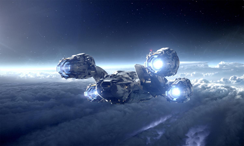 prometheus spaceship