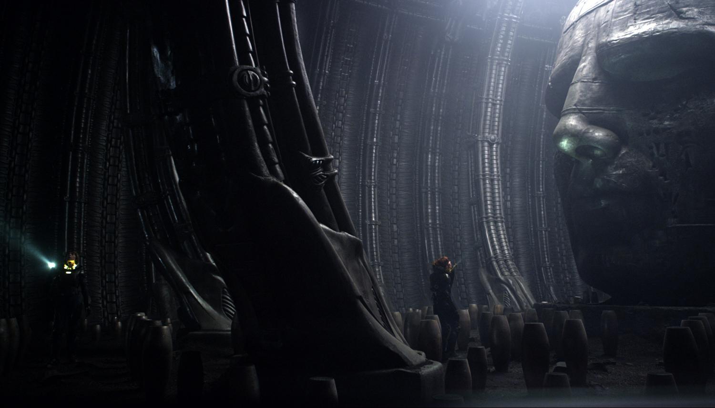 Prometheus, alien, movie, hr giger inspired