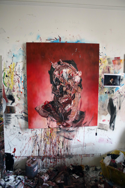 Antony Micallef - impasto portrait