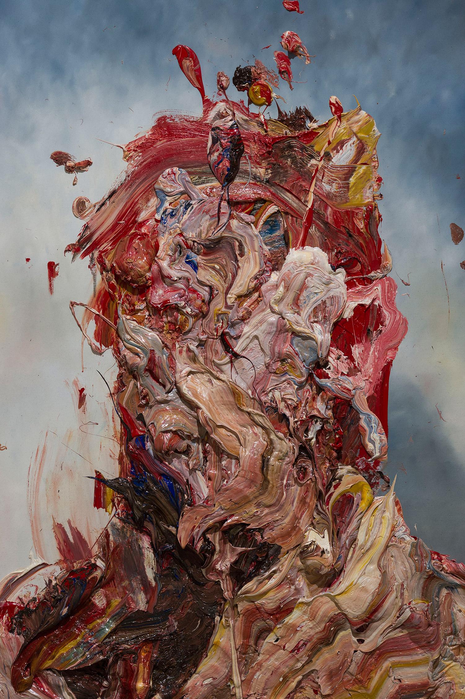 Antony Micallef - impasto face