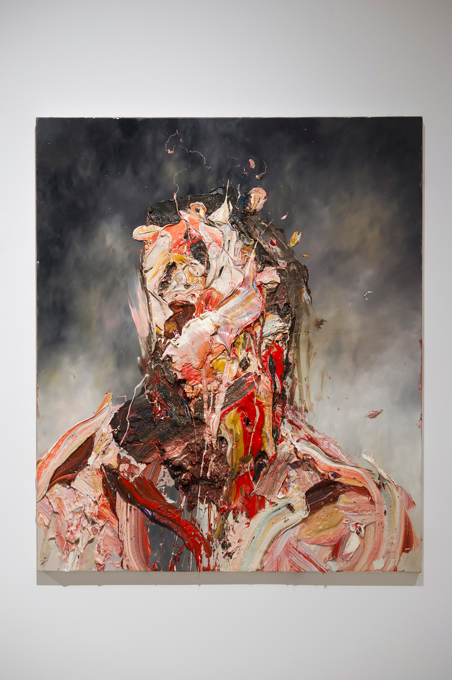 Antony Micallef - portrait with shadowy background