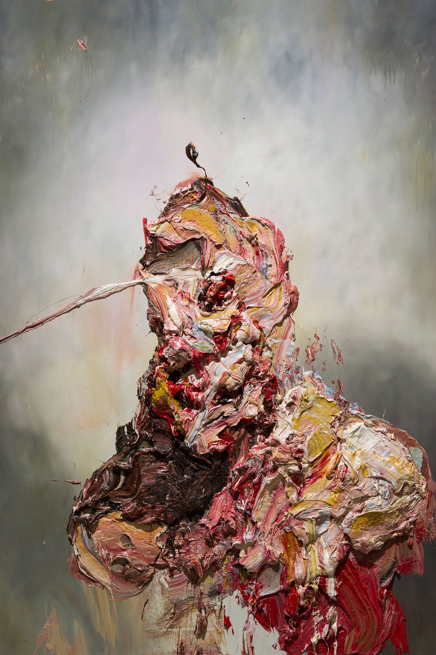 Antony Micallef - impasto face 2