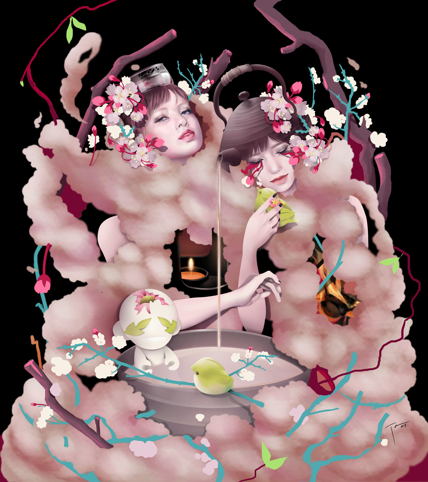 Katrina Taule - Tea Project Blossom