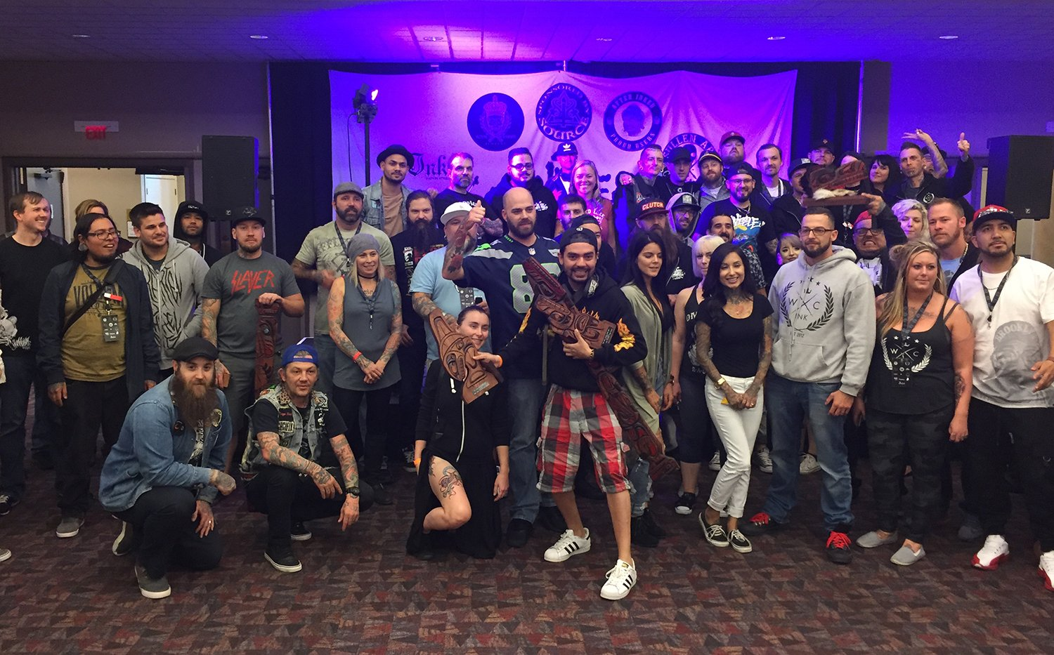 all tattooers from the van isle convention