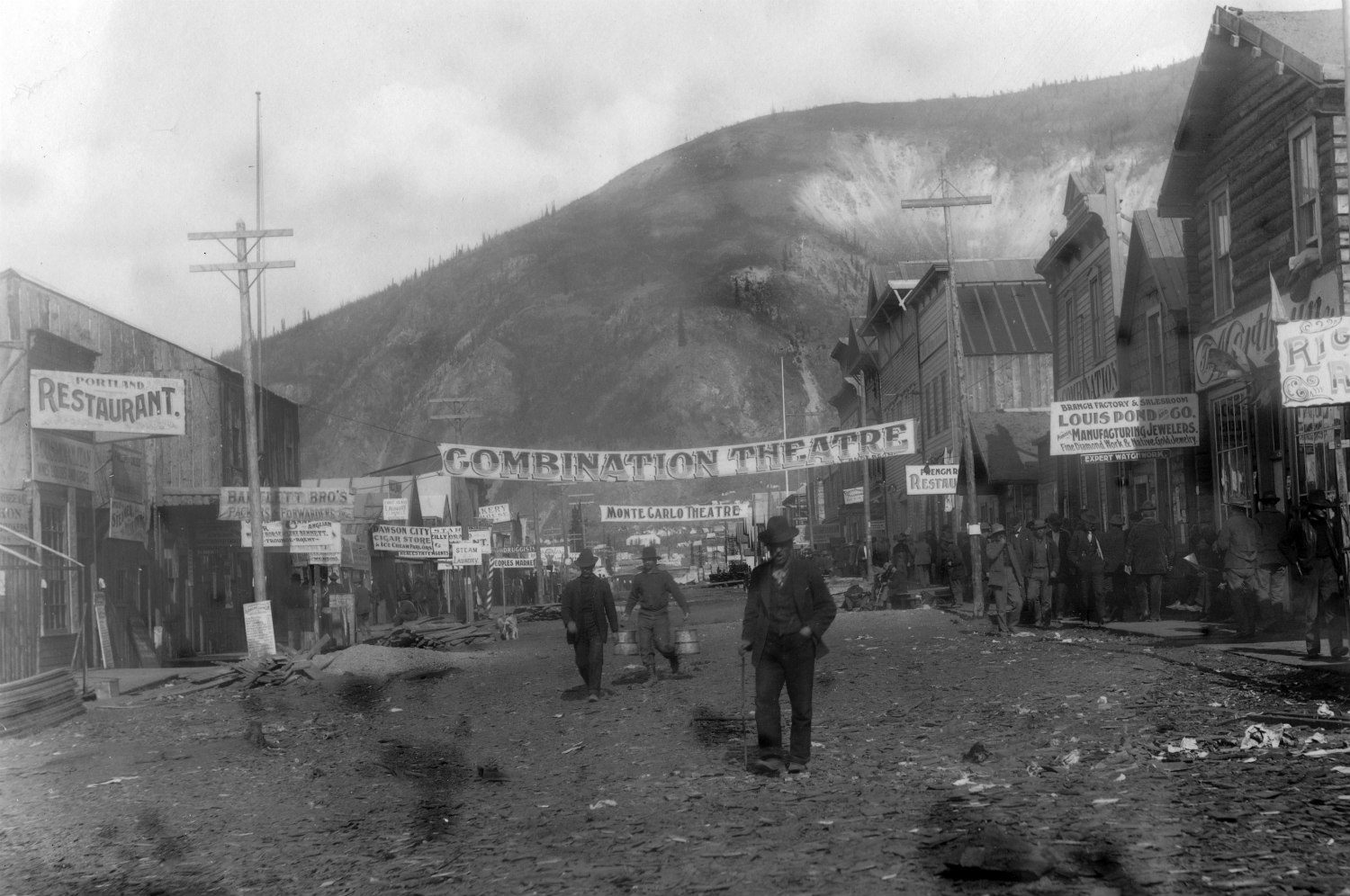 Dawson City Frozen Time still