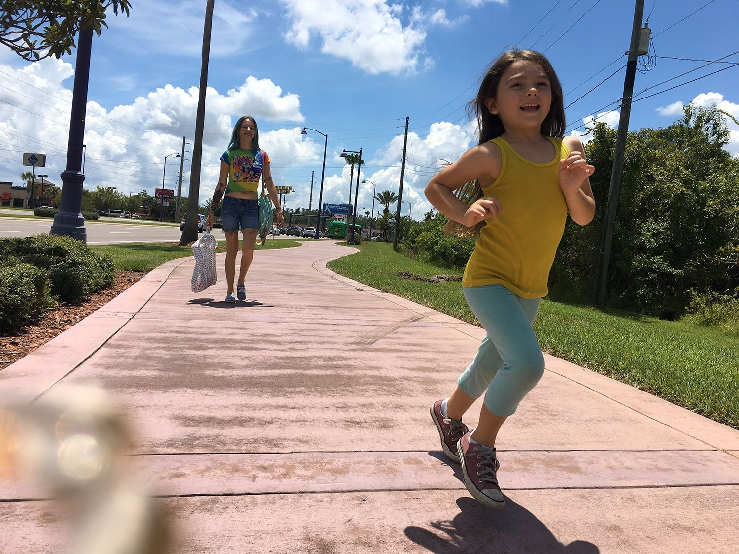 mom and daughter, in the florida project movie, best film