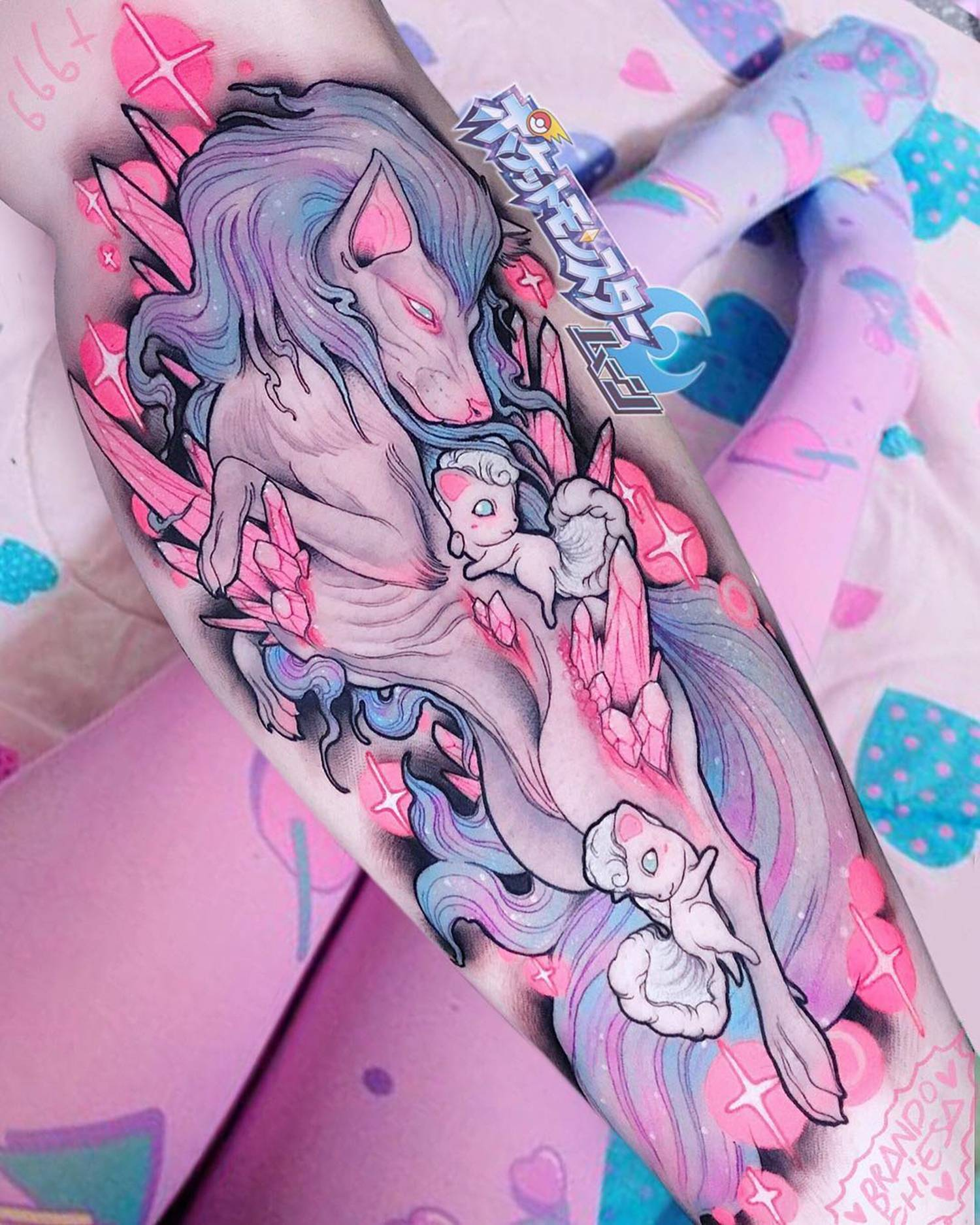Neo Traditional Tattoos Of Pastel Gore By Brando Chiesa Scene360 Candy gore commission for @jaysconfused !! pastel gore by brando chiesa