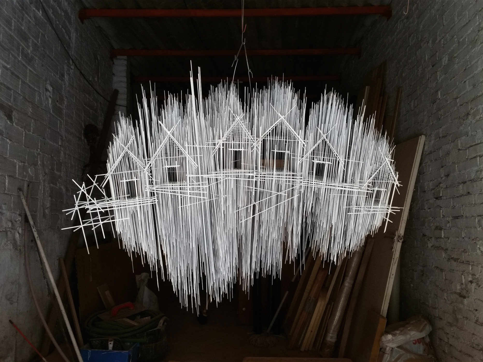 David Moreno - floating city installation