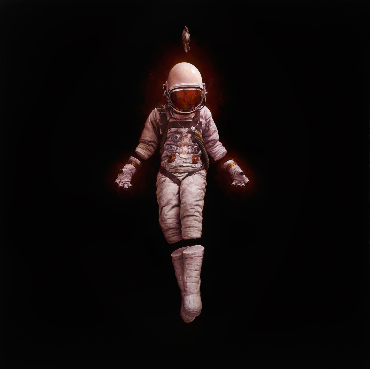 Jeremy Geddes - astronaut floating