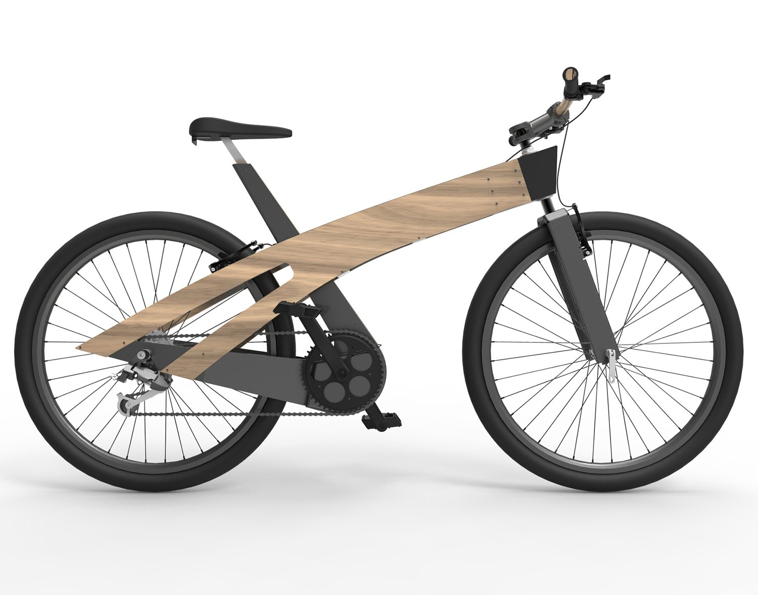 Lignum Nature Friendly E Bike by Yunus Emre Pektas