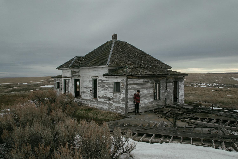 Brendon Burton, Western Gothic - creepy house