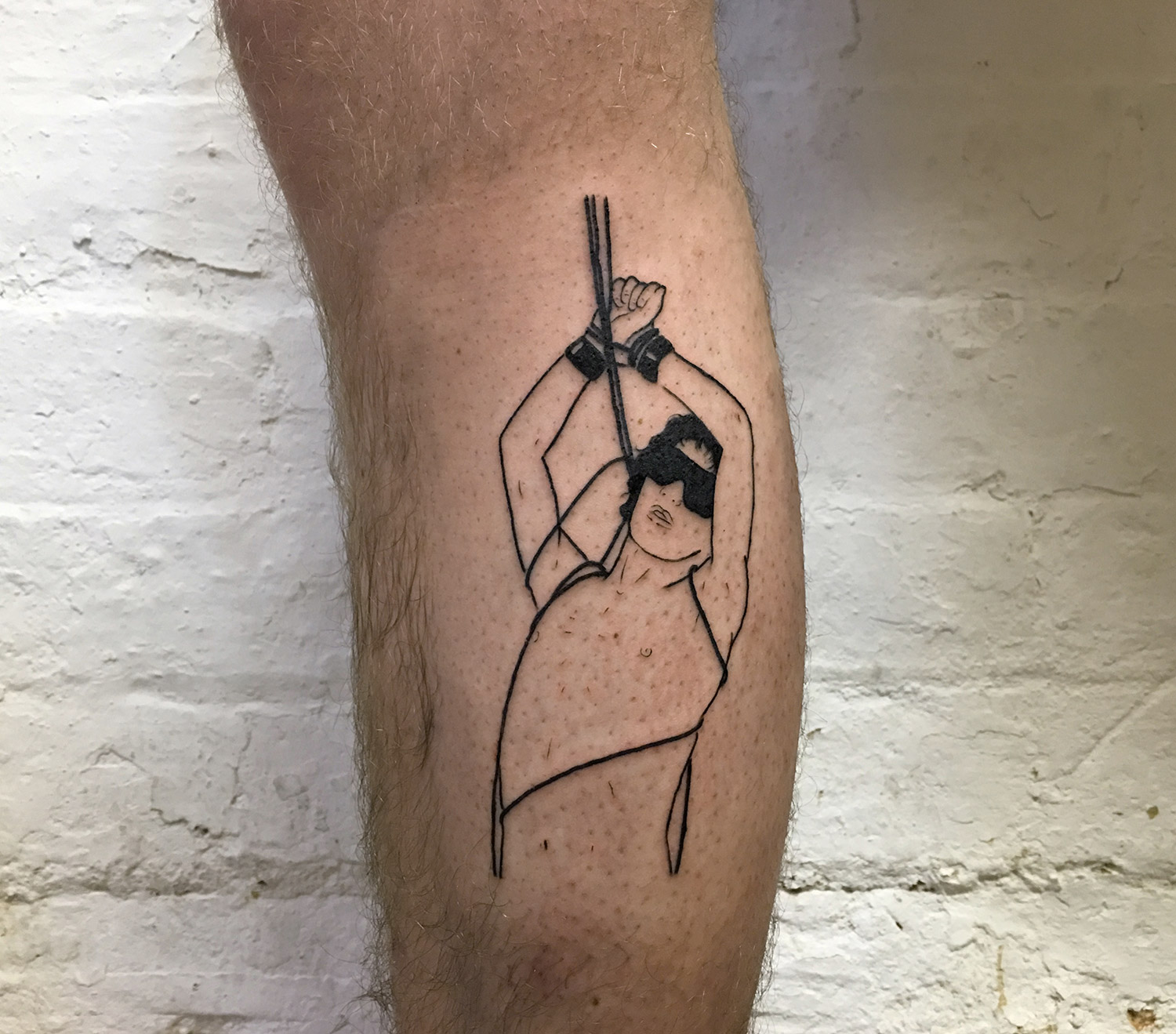 Adam Traves, Disinhibition - kink tattoo